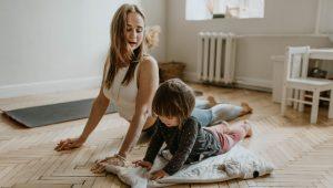 """Kje na """"to do"""" seznamu so moje potrebe, ko sem sam/a doma z otrokom?"""